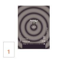 폼텍 분류용 라벨 LS-3130 210×297 100매