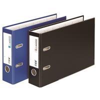 문화 레버아치 바인더 B842-7 A4 70MM 파랑 가로형