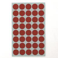 좋은라벨 견출지 3001 컬러 분류용 Ø16 빨강 7매