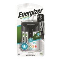 ENERGIZER 에너자이저 PRO 충전기 + AA 충전용 건전지 4입