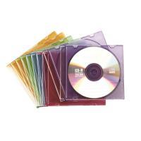 컬러 CD/DVD 슬림케이스 10입