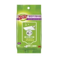 3M 스카치 브라이트 일반형 정전기 청소포 30매