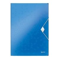 LEITZ 4599 WOW 3-플랩 PP 홀더 블루