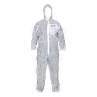 가드맨 방진보호복 PP 원피스 2XL 흰색