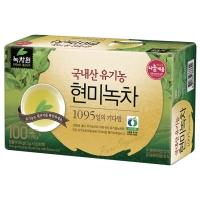녹차원 유기농 현미녹차 (1.2g X100티백)