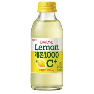 롯데 데일리C 레몬1000 C+ 140ml X 10병