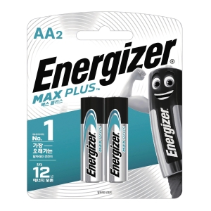 PK2 ENERGIZER ALKALINE MAX PLUS AA