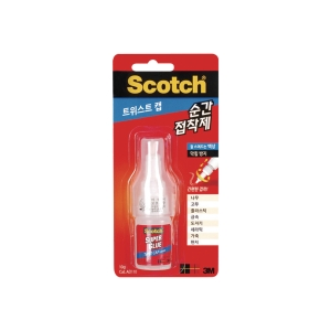 SCOTCHAD110 SUPERGLUE TWISTCAP LIQUID10G