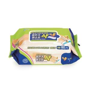 버블윅 물걸레 청소포 샥 캡형 300X200 30매