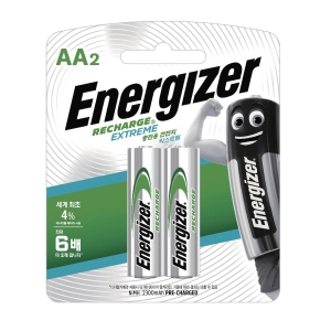 PK2 ENERGIZER RECHARGEABLE AA BATTERIES