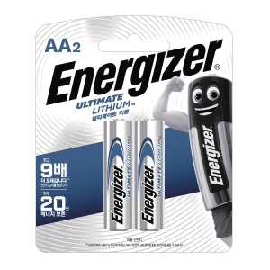 PK2 ENERGIZER LR6/AA LITH BATTERY 1.5V