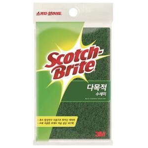 SCOTCH BRITE AL-270×3 수세미 135×200 3입