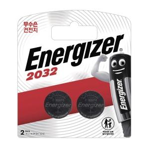 PK2 ENERGIZER CR2032 WATCH BATTERY