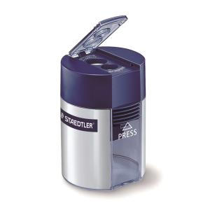 STAEDTLER 512001 2HOLE SHARPENER BLUE