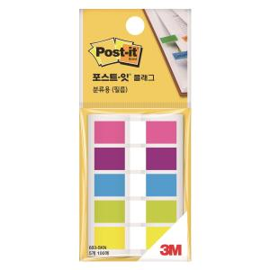 PK5 3M 683-5KN POST-IT FLAG 12X44 ASSTD