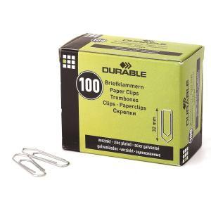 DURABLE 납작 클립 1210 32mm 100개입