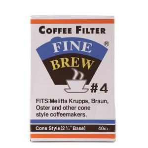 PK40 GROUND COFFEE FILTER PAPER F/5-7PERS