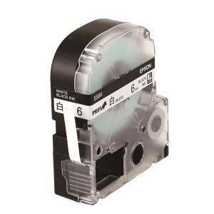 엡손 라벨테이프 SS6K PX 하양/검정 6mm