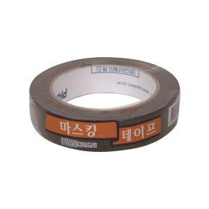 금성 마스킹 테이프 25mm×40M 검정
