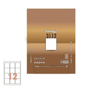 폼텍 물류용 라벨 LS-3112 63.5×70 100매