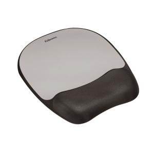 FELLOWES 91758 MEMORY FOAM PAD SILVER