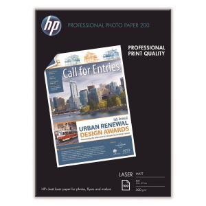 HP 무광택 레이저 포토용지 Q6550A A4 200g 100매