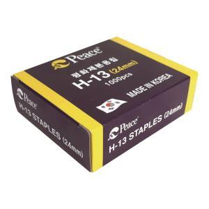 평화 H13 스테이플 24mm 1000개입