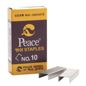 평화 스테플러 침 10호 1000개입x4갑세트