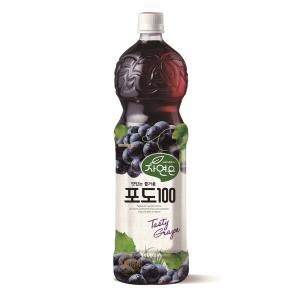 WOONGJIN NATURAL GRAPE JUICE 1.5L