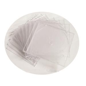 투명 CD 슬림 케이스 10개입