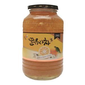 꽃샘 꿀 유자차 1KG