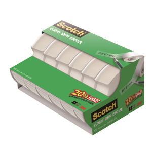 3M 스카치 매직테이프 디스펜서 세이빙팩 122A-6