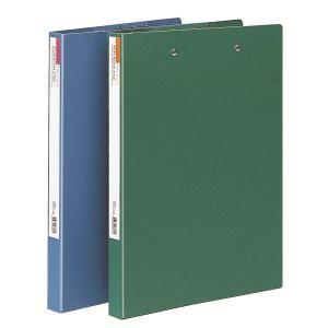 문화 수입지 레버클립 파일 더블 F335-7 A4 초록
