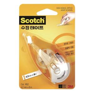 SCOTCH 1652 CORRECTION TAPE 4.2MMX8M