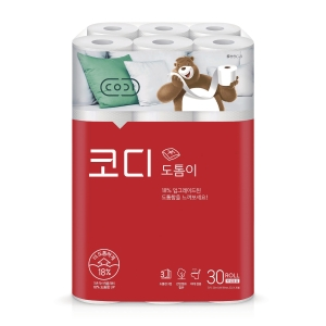 PK30 HAPPY HOME ROLL TISSUE 30M