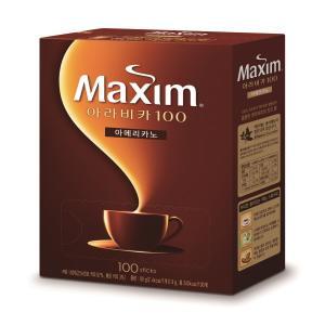 PK100 MAXIM ARABICA 100 BLACK INSTANT COFFEE 0.9G