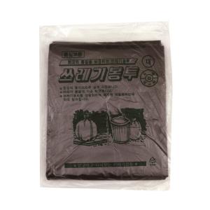 배접 쓰레기봉투 대 75L(76x94) 검정 20장