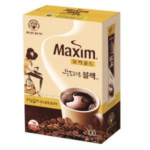 맥심 모카골드 부드러운 블랙 커피믹스 (2.7g × 100스틱)