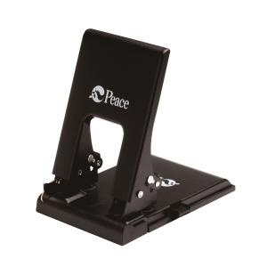 PEACE 2-HOLE PUNCH 70MM BLACK