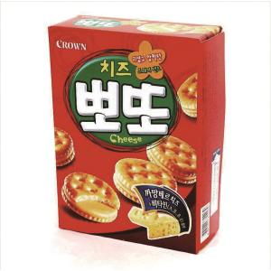 CROWN POTTO CHEESE BISCUIT 161G