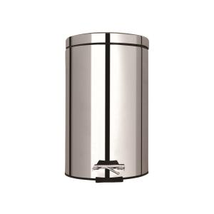 STAINLESS PEDAL WASTE BIN 12L