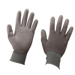 PU COATING GLOVE PU-PALM-GREY M