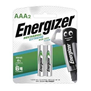 ENERGIZER AAA 충전용 건전지 2입