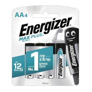 ENERGIZER MAX PLUS AA 4입