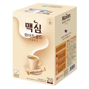맥심 화이트골드 커피믹스 (11.7g × 210스틱)