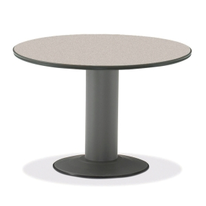 FIRST SEMINAR ROUND TABLE 1200MM GREY
