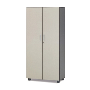 FIRST 4DOORS BOOKSHELF 1900MM GREY