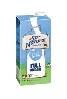 SO NATURAL LONG LIFE FULL MILK 1L - EACH