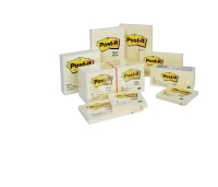 POST-IT NOTES 36 X 48MM YELLOW - PACK OF 12