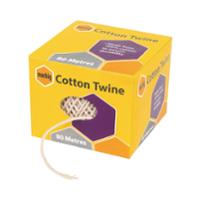 MARBIG COTTON TWINE BALL 80M NATURAL - EACH